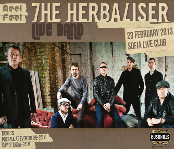 MySound and ReelFeel presents The Herbaliser at SLC